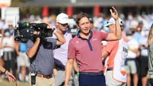 Carlos Ortiz won his first PGA tour title at Houston Open