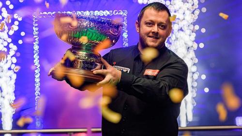 Belfast's Mark Allen won the Champion Of Champions final over Neil Robertson.