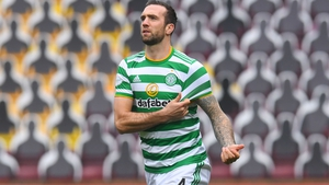 Duffy comes off the bench for Celtic at Fir Park.