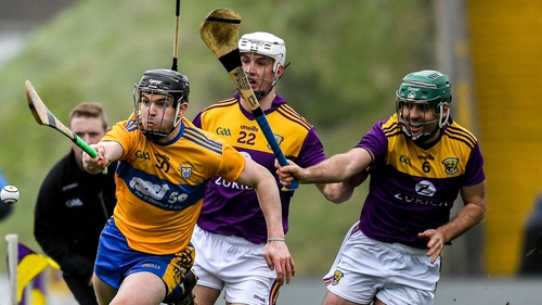 Clare and Wexford collided in the league last February