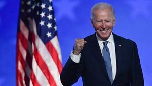Joe Biden, the US president-elect
