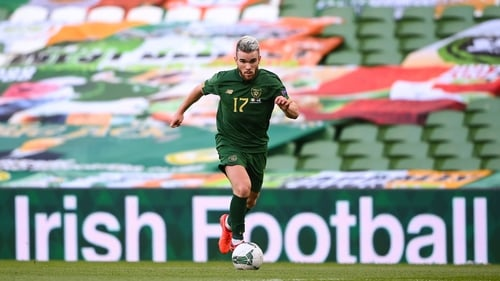 Aaron Connolly is looking forward to Ireland's three upcoming matches rather than back at last month's Covid crisis in Slovakia