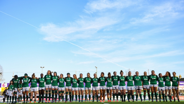 Should Ireland win their European qualifier tournament they will be competing in Pool B at the 2021 Women's Rugby World Cup
