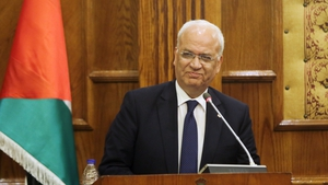 Saeb Erekat contracted the virus on 8 October