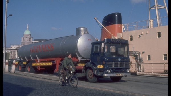 Guinness is good for trade. Photo: RTÉ Stills Library