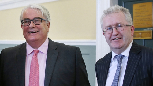 Frank Clarke (left) and Seamus Woulfe (File pic: RollingNews.ie)