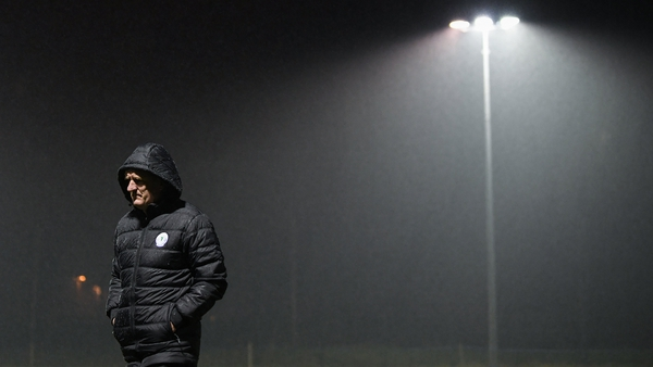 Ollie Horgan steered Finn Harps to an unlikely escape from the promotion/relegation play-off on Monday night