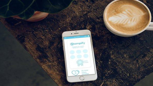 Stampify charity loyalty app