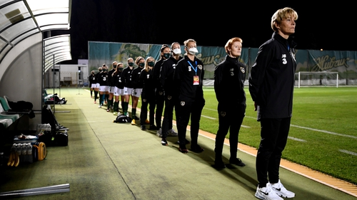 Ireland manager Vera Pauw acknowledges the nature of the task ahead