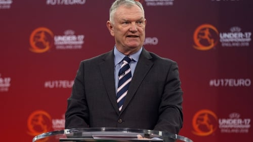Greg Clarke was elected as a vice-president of FIFA in February 2019