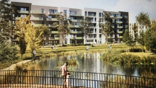 The deal between the City Council and the developer would see 853 new homes constructed(Pic: Dublin City Council)