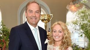 Clodagh McKenna with her fiancé Harry Herbert