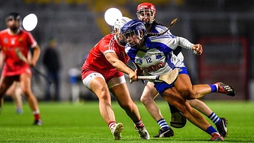 Niamh Rockett in action against Cork