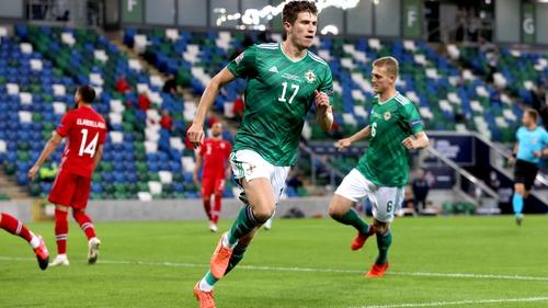 Paddy McNair was on target against Norway in September