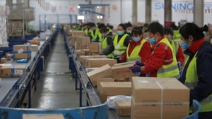 Chinese factory prices hit a more than two-year high in March, new figures show today