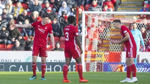 Scott McKenna (L) and Andy Considine (R) established a formidable partnership during their time together at Aberdeen