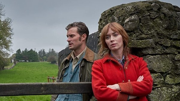Jamie Dornan and Emily Blunt in Wild Mountain Thyme