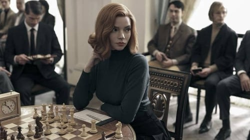 Anya Taylor-Joy as chess prodigy Beth Harmon in The Queen's Gambit. Photo: Netflix