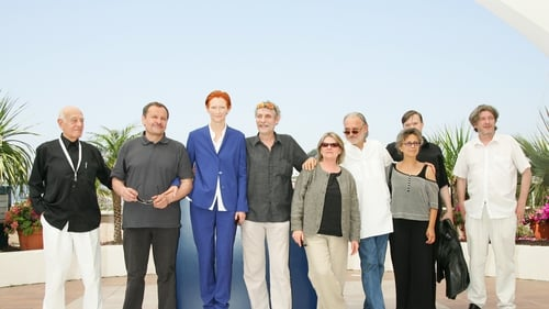 The photo call from Cannes Film Festival 2007 for The Man from London, starring Tilda Swinton and directed by Bela Tarr