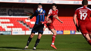 Ryan Cassidy is spending this season on loan at Accrington Stanley