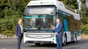 Caoimhe Donnelly, CIÉ Chief Sustainability Officer and Lorcan O'Connor, CIÉ Group Chief Executive