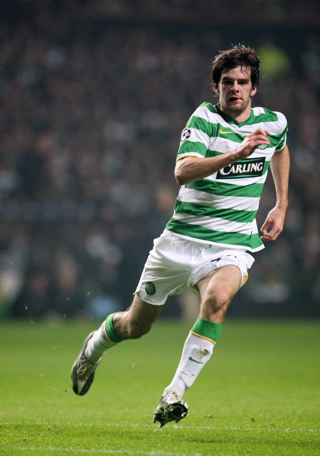 Image - Sheridan with Celtic against Man United in November 2008