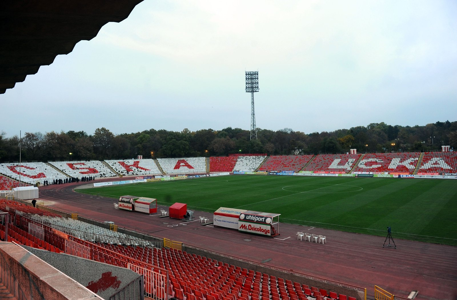 Image - Bulgarian Army Stadium in Sofia as it looked 11 years ago