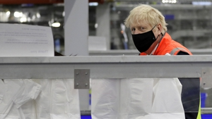 'I have got to stress that we are not out of the woods yet', Boris Johnson said following the grim milestone