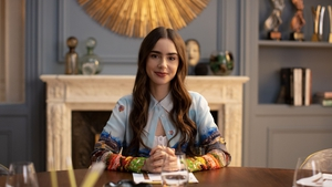 Lily Collins as Emily in Paris