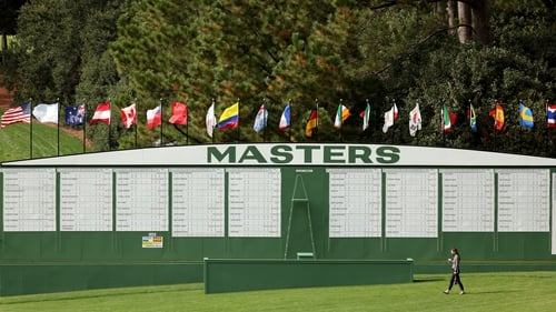 Augusta National are holding fire on a specific 'Masters ball' for now