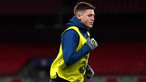 James McCarthy trained with the Ireland squad on Wednesday