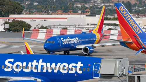 Total operating revenue at Southwest, which is more focused on domestic travel, rose nearly 300% in June