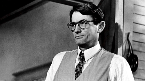 Gregory Peck in To Kill a Mockingbird. Photo By Everett Collection / Rex Features