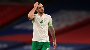 Shane Duffy captained Ireland in last November's Euro 2020 play-off