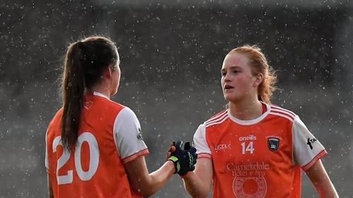 Bláithín, right, and Aimee Mackin
