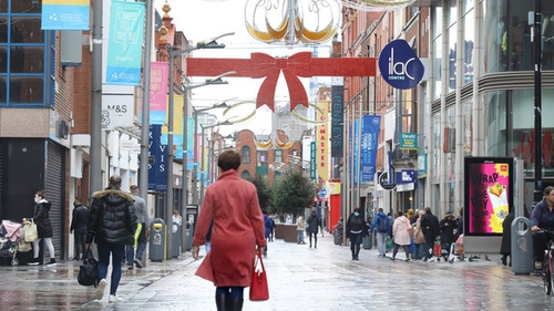 The KBC Bank Irish consumer sentiment index jumped to 65.5 in November from 52.6 in October (Photo: RollingNews.ie)