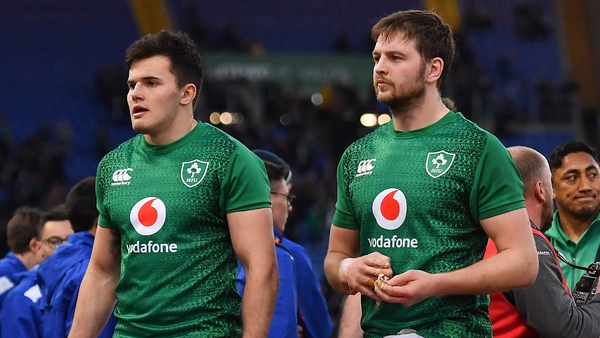 Jacob Stockdale and Iain Henderson miss out