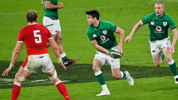 Conor Murray marshalled the back line well for 20 minutes against Wales