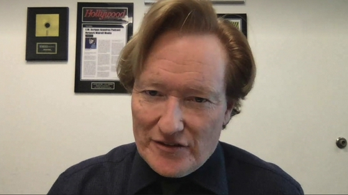 "Conan O'Brien: ""My body immediately responds to being in Ireland."""