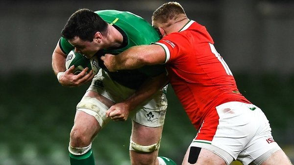 James Ryan took over the captaincy after Johnny Sexton's injury