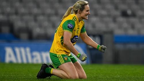 Karen Guthrie scored Donegal's first goal