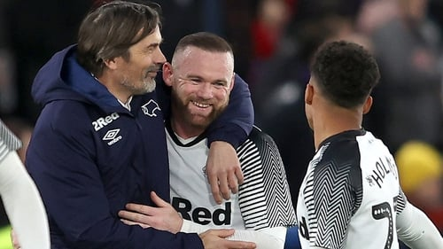 Wayne Rooney will help fill the gap left by departed manager Philip Cocu at Derby.