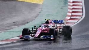 Lance Stroll is on pole position