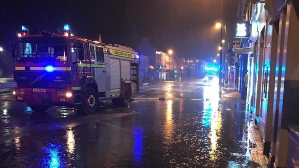 Council staff and the County Fire Service were on hand from 3am this morning (Pic: Cork County Council)