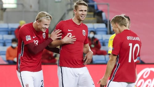 Erling Haaland and Martin Odegaard are both out of the Norway squad
