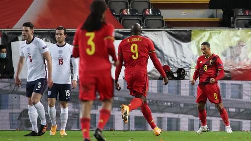 Youri Tielemans of Belgium celebrates