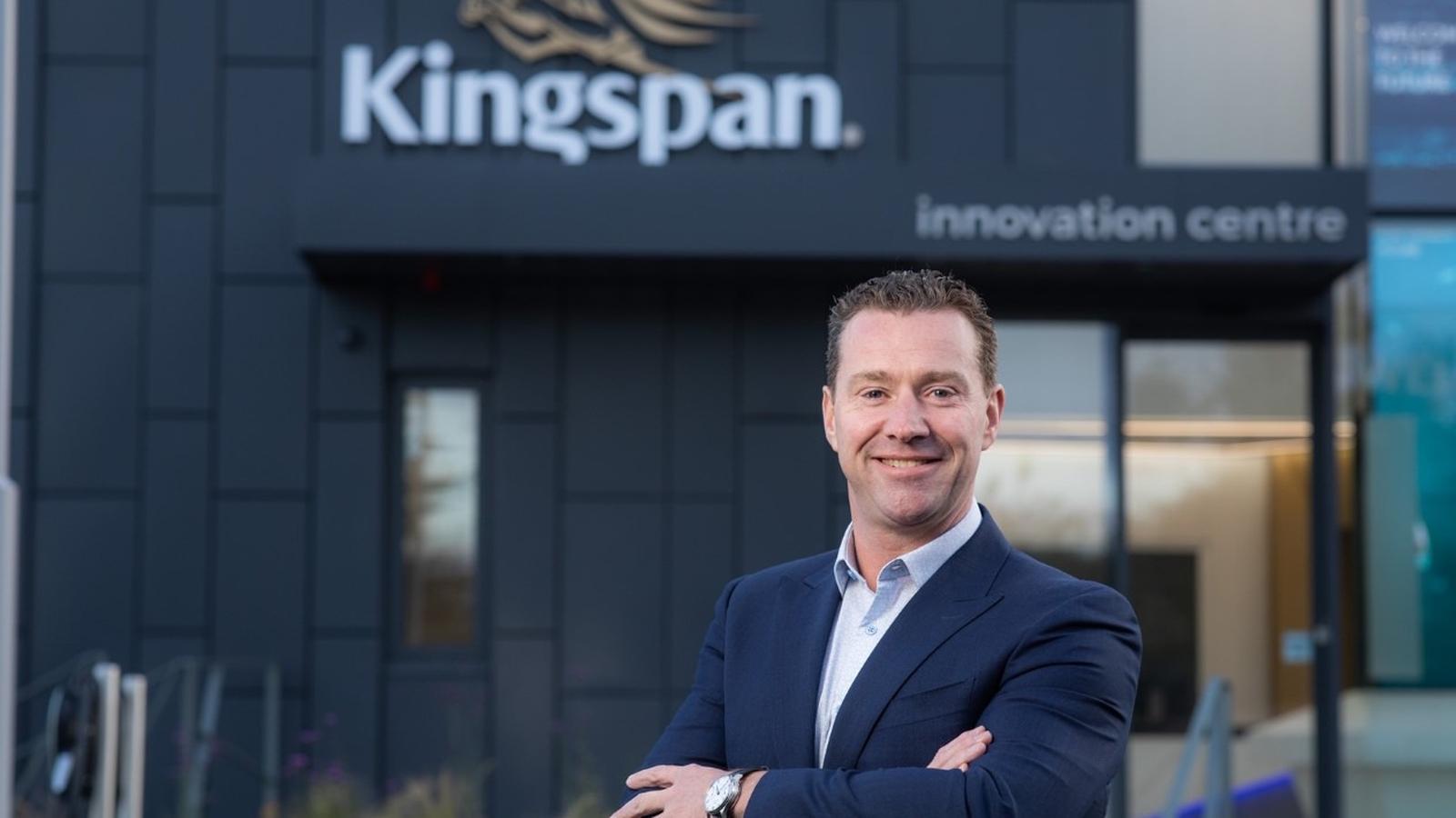 Kingspan's first quarter sales up 24%