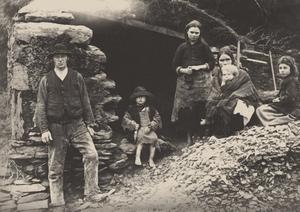 A family in Killarney in 1888