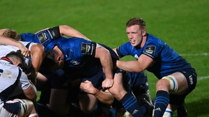 Dan Leavy back in the Leinster pack against Edinburgh
