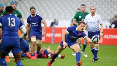France were last in action against Ireland on 31 October